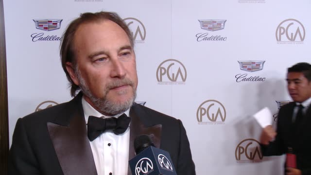 INTERVIEW Gregg Fienberg at 29th Annual Producers Guild Awards presented by Cadillac at The Beverly Hilton Hotel on January 20 2018 in Beverly Hills...