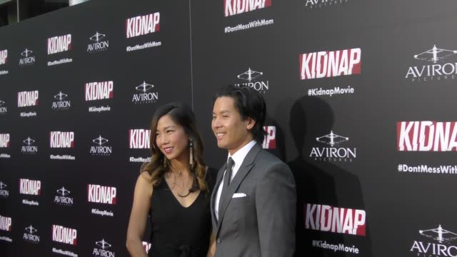 Gregory Chou at the 'Kidnap' Los Angeles Premiere at ArcLight Hollywood on July 31 2017 in Hollywood California