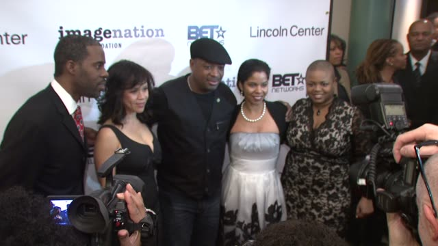 gregory gates, rosie perez, chuck d, guest and moikgantsi kgama at the imagenation presents - a 20th anniversary celebration of do the right at new... - rosie perez stock videos & royalty-free footage
