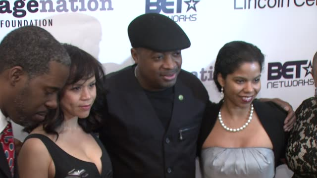 gregory gates, rosie perez, chuck d, guest and moikgantsikgama at the imagenation presents - a 20th anniversary celebration of do the right at new... - rosie perez stock videos & royalty-free footage