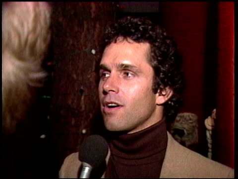 vídeos de stock, filmes e b-roll de gregory harrison talks about randi oakes and a possible marriage. explains not wanting to compete with other men. segment includes previous footage... - 50 segundos ou mais