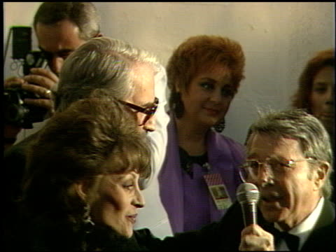 gregory peck at the 1991 academy awards at the shrine auditorium in los angeles california on march 25 1991 - gregory peck stock videos and b-roll footage