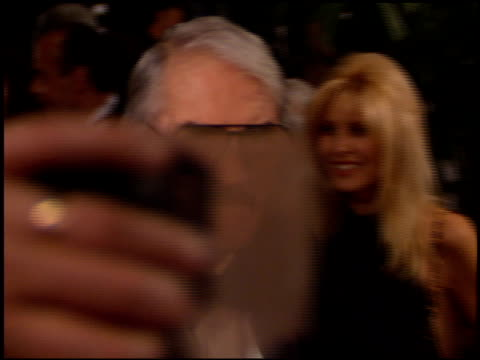 gregory peck at the afi achievement awards honoring spielberg at the beverly hilton in beverly hills california on march 2 1995 - gregory peck stock videos and b-roll footage