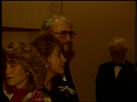 gregory peck at the army archerd 40th anniversary salute at the beverly hilton in beverly hills california on january 29 1993 - gregory peck stock videos and b-roll footage