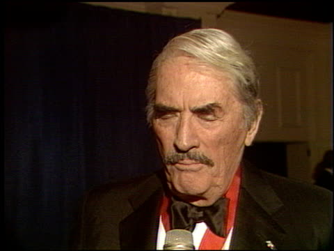 gregory peck at the scopus award 1993 at the beverly hilton in beverly hills california on january 30 1993 - gregory peck stock videos and b-roll footage