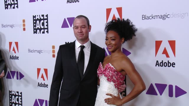 Gregory Plotkin Betty Gabriel at 68th Annual ACE Eddie Awards in Los Angeles CA