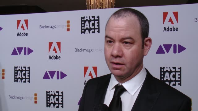 INTERVIEW Gregory Plotkin on the event at 68th Annual ACE Eddie Awards in Los Angeles CA