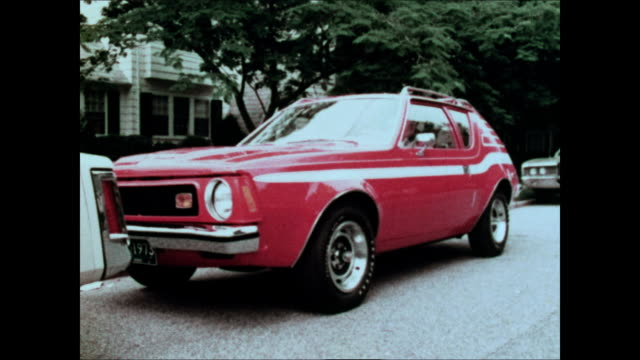 "1973 amc gremlin tv commercial - ""parking"" - parallel parking stock videos & royalty-free footage"