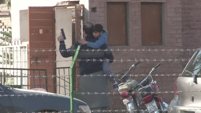 grenade toting taliban militants storm a shiite mosque in northwest pakistan in an attack that has left at least 18 people dead - taliban stock videos & royalty-free footage