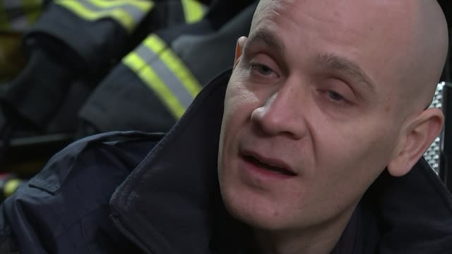 Firefighters who tried to save lives at Grenfell to run the London Marathon INT David Badillo interview SOT Jim Cuthbert interview SOT David Badillo...