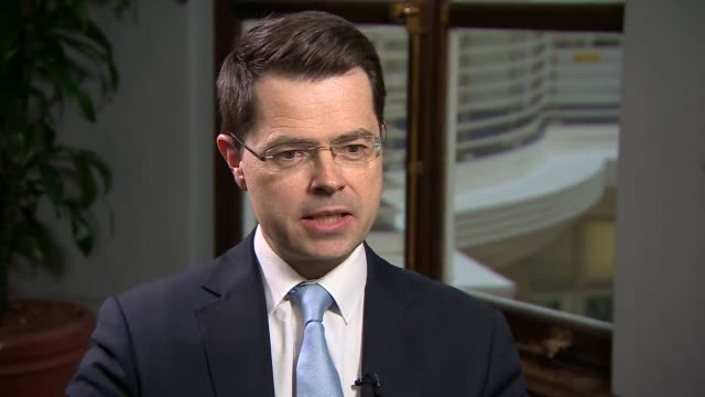government announces plans to implement hackitt review recommendations to improve building safety; england: london: int james brokenshire mp... - mp stock videos & royalty-free footage