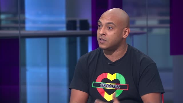 Grenfell Inquiry survivors and families release video calling for immediate action on housing safety ENGLAND London GIR INT Karim Mussilhy STUDIO...