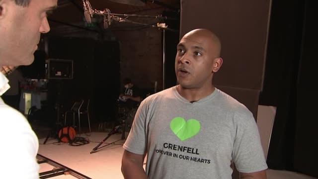 Grenfell Inquiry survivors and families release video calling for immediate action on housing safety ENGLAND London INT Karim Mussilhy interview SOT