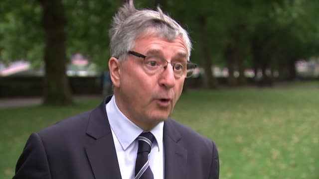 grenfell inquiry tower's safety failures outlined to inquiry westminster day jim fitzpatrick mp interview sot - mp stock videos & royalty-free footage