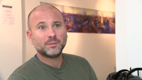 grenfell tower fire: new documentary shows life in grenfell tower before the fire; england: london: int nicholas minter-green interview sot virtual... - smith tower stock-videos und b-roll-filmmaterial