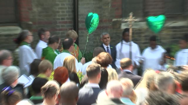 one year anniversary garden of peace and healing dedicated england london kensington ext dedication ceremony in progress for the garden of peace and... - conceptual symbol stock videos and b-roll footage