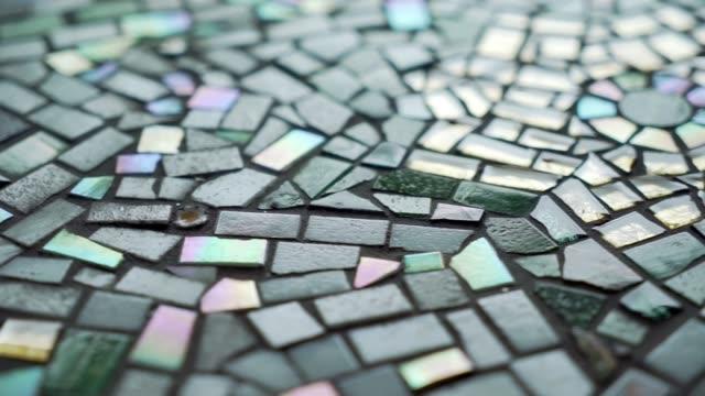 grenfell tower memorial mosaic uk london grenfell tower one year anniversary memorial mosaic ismahan egal emily fuller england london north... - メアリー ナイチンゲール点の映像素材/bロール