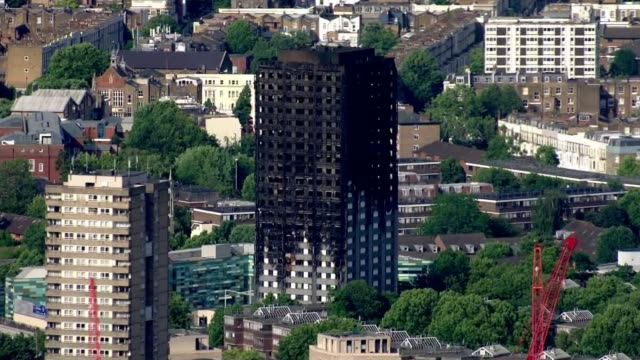 Parents of Italian girl killed in fire give evidence to enquiry LIB / Grenfell Tower after fire