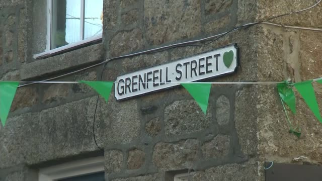 street in cornwall officially named 'grenfell street' england cornwall mousehall ext wide shot mousehall harbour various of people rowing kayaks on... - kayak stock videos & royalty-free footage