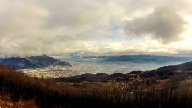 grenoble timelapse - deformed stock videos & royalty-free footage