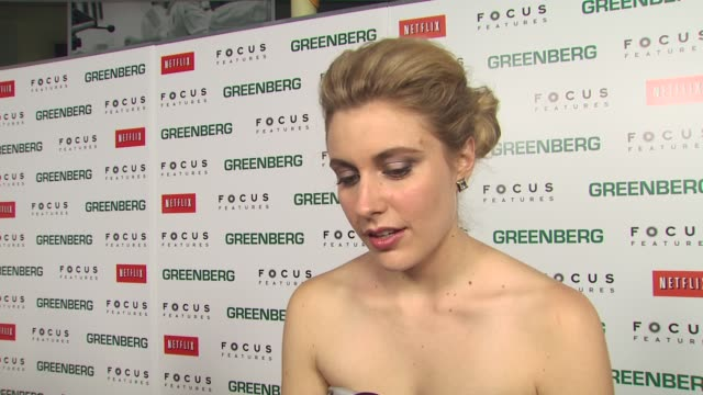 greta gerwig on the vulnerability of florence on working with ben on the director saying she is a natural on her singing at the 'greenberg' premiere... - vulnerability stock videos and b-roll footage