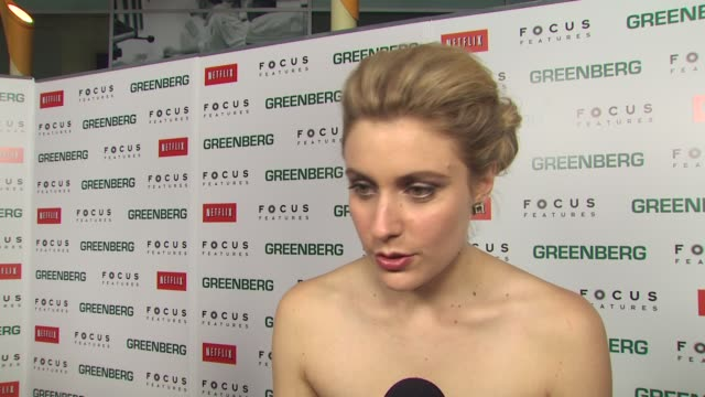 greta gerwig on the vulnerability of florence, on working with ben, on the director saying she is a natural, on her singing at the 'greenberg'... - vulnerability stock videos & royalty-free footage