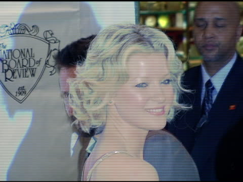 gretchen mol at the 2005 national board of review of motion pictures awards ceremony at tavern on the green in new york new york on january 10 2006 - tavern on the green stock videos & royalty-free footage