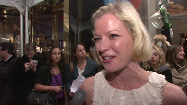 gretchen mol on what brings her out tonight what she loves about juicy couture how the brand has transitioned over time and how she owns a ton of it... - juicy stock videos & royalty-free footage