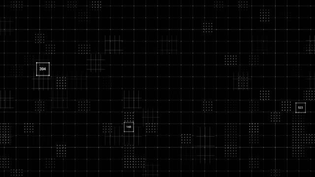 stockvideo's en b-roll-footage met grid abstract achtergronden - telefoondraad