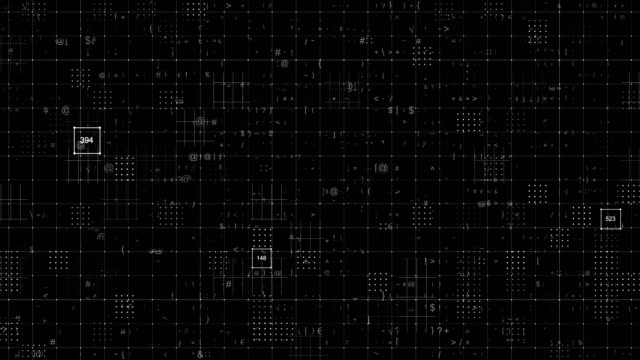 grid abstract backgrounds - linea telefonica video stock e b–roll