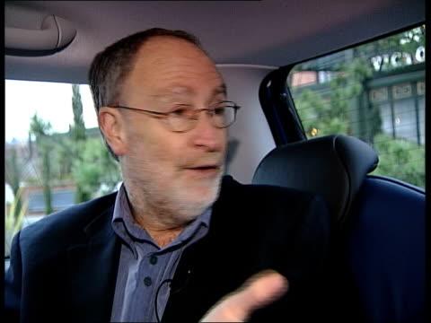 sheffield int cary cooper interview sot i/c mini driven off - 自動車ブランド mini点の映像素材/bロール