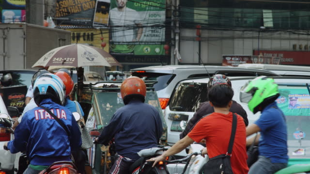 Gridlock in Manila