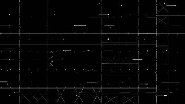 vidéos et rushes de grilles b - interface utilisateur graphique