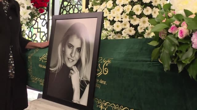 Grieving families bade farewell to the young women killed in a plane crash over Iran while returning from a prewedding celebration for a Turkish...