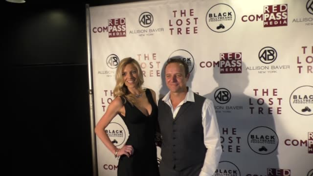 griff furst angela meredith furst at the 'the lost tree' screening at tcl chinese 6 theatres on october 09 2017 in hollywood california - the lost tree stock videos and b-roll footage