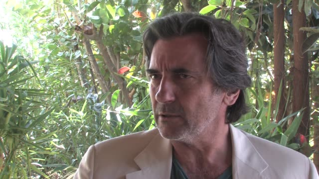 Griffin Dunne on how he feels about showing his short film at the festival at the Griffin Dunne Interview Aruba International Film Festival at Aruba