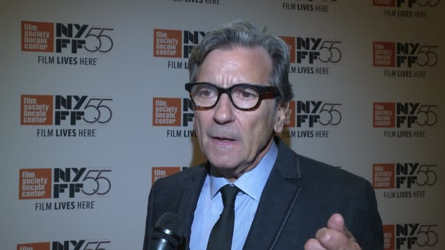 interview griffin dunne on what it was like to make a movie about his aunt joan didion on netflix stepping up to the plate to have the movie made on... - zia video stock e b–roll