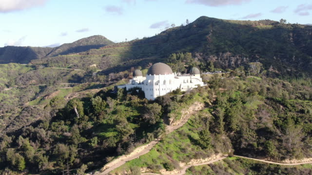 griffith observatory and surrounding scenery / los angeles, california, united states - griffith observatory stock videos & royalty-free footage