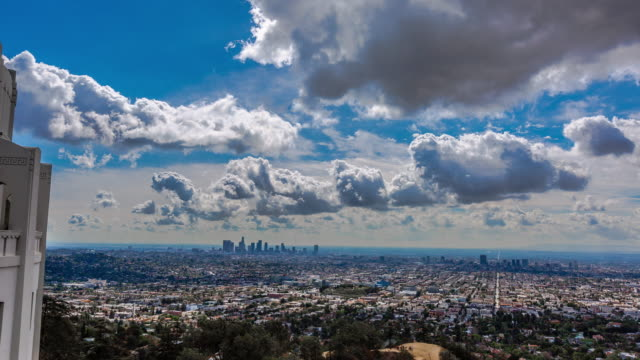 Griffith Park Observatory Timelapse