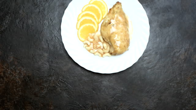grilled chicken breast - grilled chicken stock videos and b-roll footage