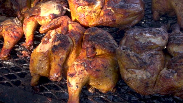 Grilled chicken sold at Farmers Market