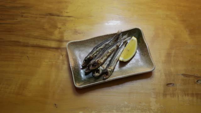 grilled mezashi. - 1956 stock videos & royalty-free footage