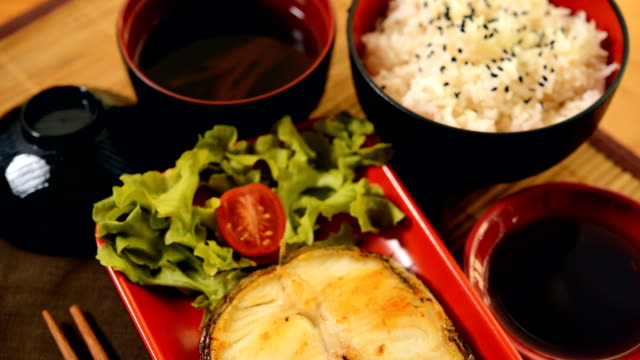 Grilled Sable fish,Gindara ,Chilean Sea Bass,Patagonian Toothfish,butterfish,Black Cod, with Soy Sauce