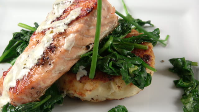 Grilled Salmon Filet