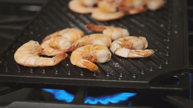Grilled Shrimp on a Stovetop