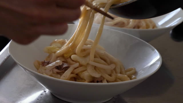 grilled udon. - catering building stock videos & royalty-free footage