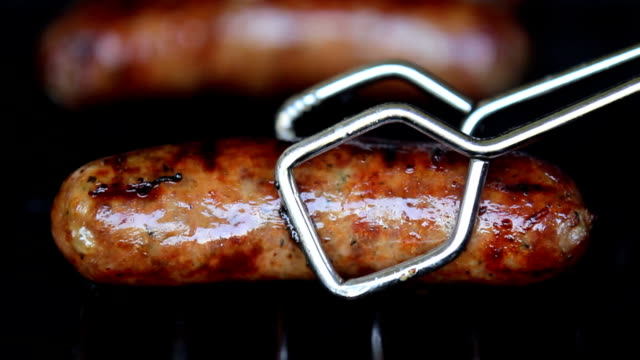 grilling hd - sausage stock videos & royalty-free footage