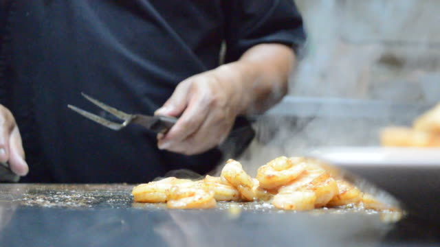 grilling shrimp with lime - fruit juice stock videos & royalty-free footage