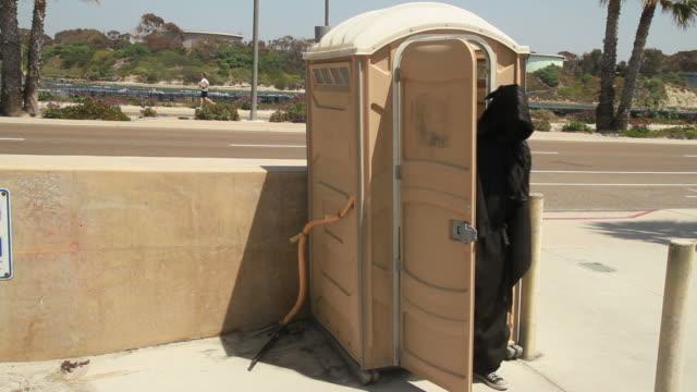 grim reaper porta potty