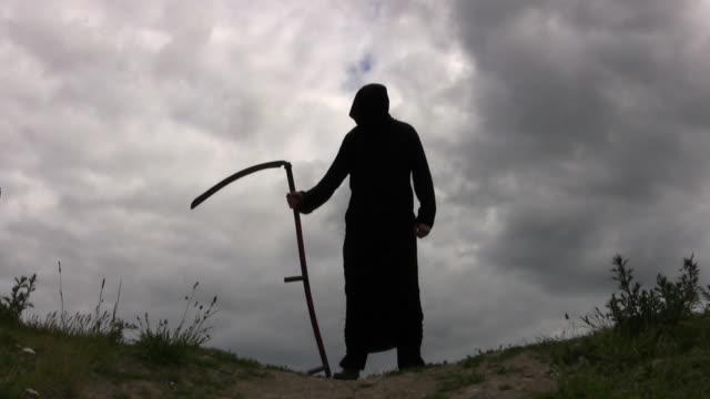 vidéos et rushes de ange de la mort - mort concepts